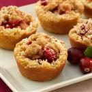 Mini Cranberry Apple Tarts