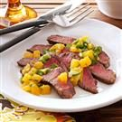 Steak with Citrus Salsa