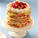 Strawberry-Lemon Crepe Cake