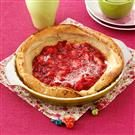 Strawberry Puff Pancake