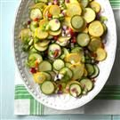 Sweet & Sour Squash Salad