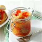 Sweet Onion & Red Bell Pepper Topping