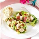 Tarragon Chicken & Romaine Salad
