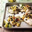 Tilapia with Corn Salsa