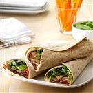 Turkey & Apricot Wraps