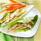 Turkey Verde Lettuce Wraps
