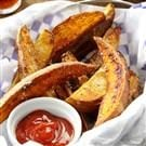 Two-Tone Potato Wedges