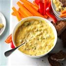 Warm Broccoli Cheese Dip