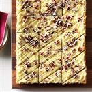 White Chocolate Cranberry Blondies