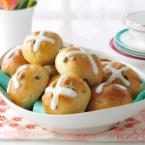 Traditional Hot Cross Buns Photo