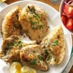 Slow-Cooked Lemon Chicken Photo