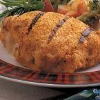 Grilled Chicken Cordon Bleu