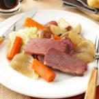 Guinness Corned Beef and Cabbage Photo