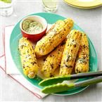 Corn with Cilantro-Lime Butter