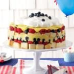 Red, White & Blue Berry Trifle Photo