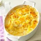 Sharp Cheddar Scalloped Potatoes Photo