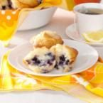 Sour Cream Blueberry Muffins Photo
