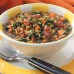 Spinach Lentil Stew