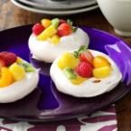Easter Meringue Cups Photo