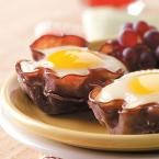 Eggs in Muffin Cups Photo