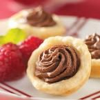 Chocolate Ganache Tarts Photo