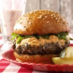 Basil Burgers with Sun-Dried Tomato Mayonnaise Photo