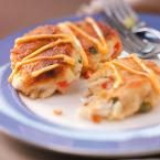 Crab Cakes with Red Chili Mayo Photo