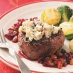 Peppered Filets with Cherry Port Sauce for 2 Photo