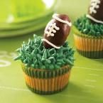 Truffle Football Cupcakes Photo