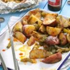 Grilled Potatoes & Peppers Photo