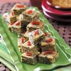 Spinach Squares Photo