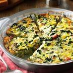 Watch Us Make: Crustless Spinach Quiche