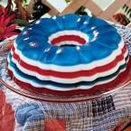 Patriotic Gelatin Salad Photo