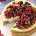 Red, White and Blue Cheesecake Photo