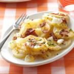Grilled Three-Cheese Potatoes Photo