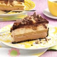 Peanut Butter Chocolate Ice Cream Torte