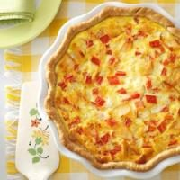 Smoked Salmon Quiche Photo