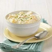 Chilled Corn and Shrimp Soup Photo