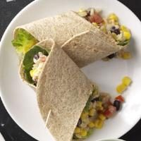 Easy Southwestern Veggie Wraps Photo