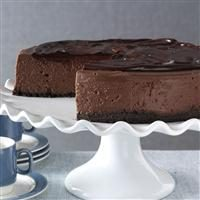 3D Chocolate Cheesecake Photo