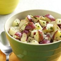 Lemon Vinaigrette Potato Salad Photo