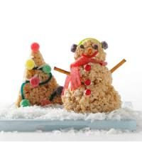 Winter Wonderland Cereal Treats Photo