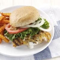 Hearty Breaded Fish Sandwiches Photo