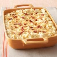 Five-Cheese Macaroni with Prosciutto Bits Photo