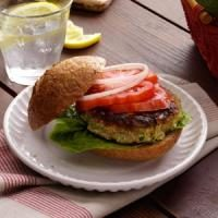 Zucchini Burgers Photo