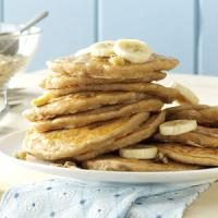 Banana Oatmeal Pancakes Photo