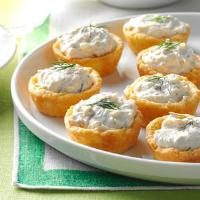Salmon Mousse Cups