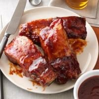 Plum-Glazed Country Ribs Photo