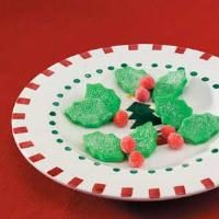 Holly Butter Mints Photo
