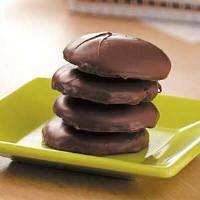 Chocolate Mint Wafers